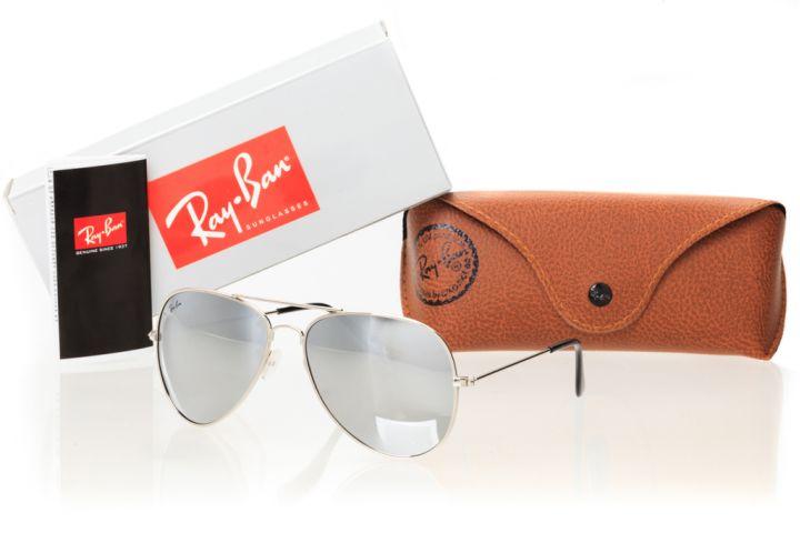 Очки Ray Ban Модель 3026z-silver