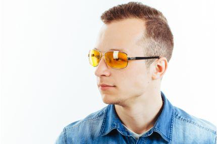 Водительские очки Premium K01 yellow