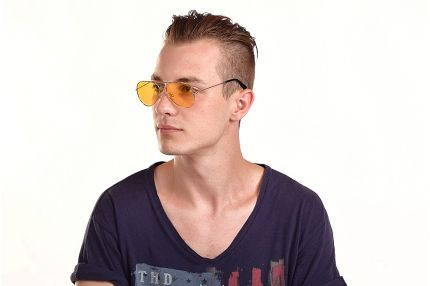 Водительские очки Premium A01 yellow