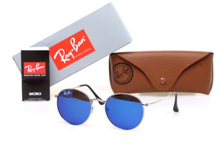 Ray Ban Round Metal 6002-blue