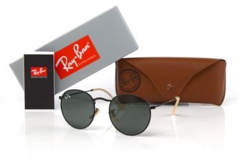 Ray Ban Round Metal 3447-black-b