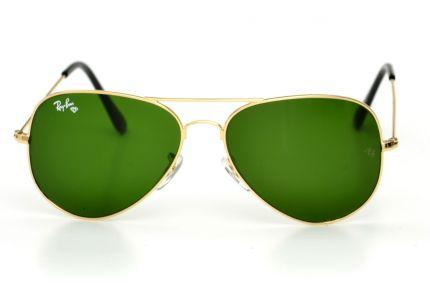 Очки Ray Ban Модель 3025D-green-gold